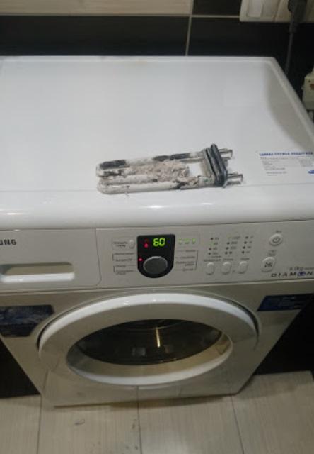 Замена тэна в стиральной машине Samsung Diamond в Могилеве